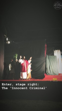 Enter, stage right: The 'Innocent Criminal'. Vasai is also home to many Marathi-speaking Roman Catholics, who have contributed to a rich body of literature, music and dramatics over the years in the Official Marathi tongue